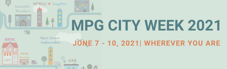 Join the first MPG City Week 2021!