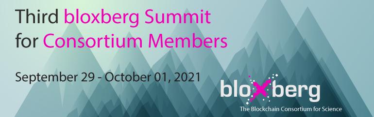 Third bloxberg Summit for Consortium Members