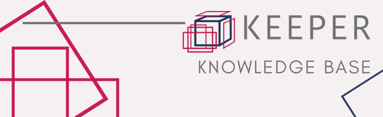 KEEPER Knowledge Base - everything you need to know about the KEEPER Service